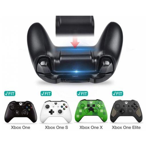 Bateria de Mando Xbox One Recargable + Cable USB Cargador [1]