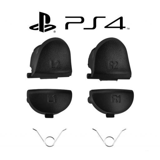 Gatillos Botones Mando PS4 R1 L1 R2 L2 DualShock 4 PlayStation 4