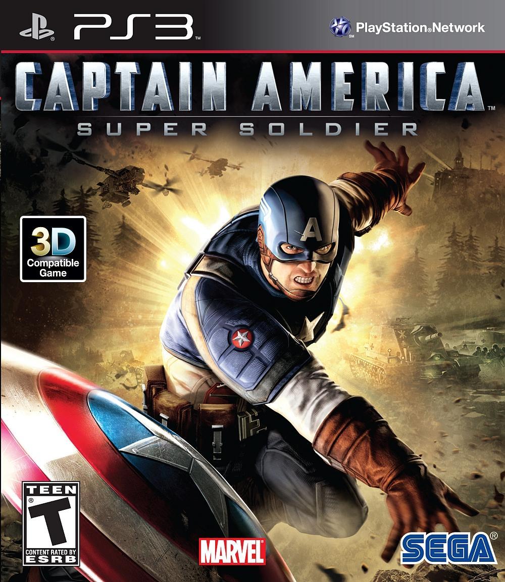 CAPITAN AMERICA PARA PLAYSTATION 3 PS3 COMPLETO