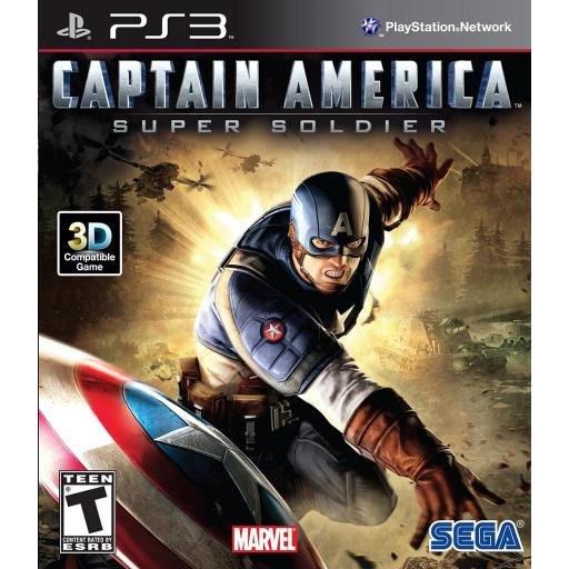 CAPITAN AMERICA PARA PLAYSTATION 3 PS3 COMPLETO