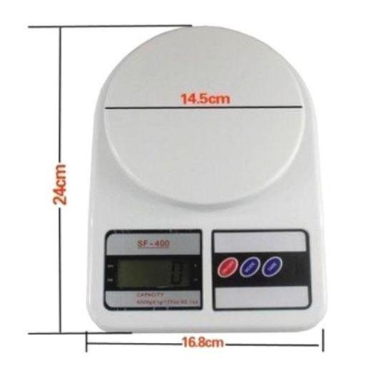 Balanza Digital De Cocina Precisión 1G A 7 Kg Peso Electrónica [1]