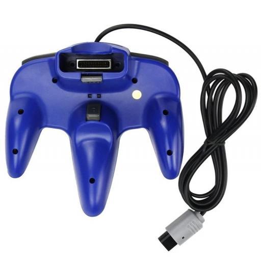 Mando para Nintendo 64 N64 Joystick - Gris Rojo Azul Negro [2]