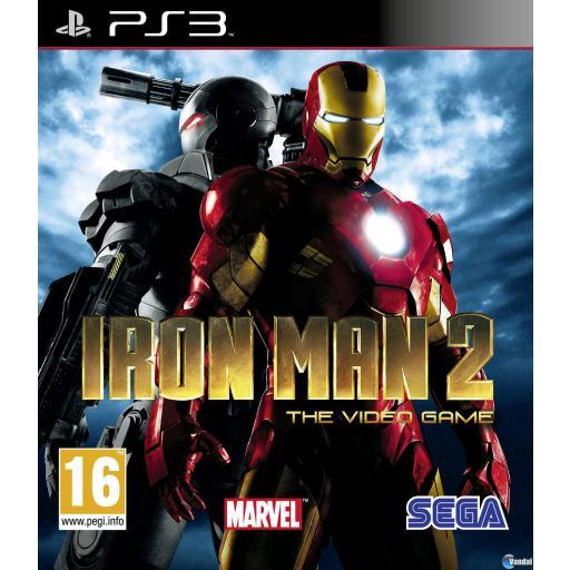 IRON MAN 2 PARA PLAYSTATION 3 PS3 COMPLETO!