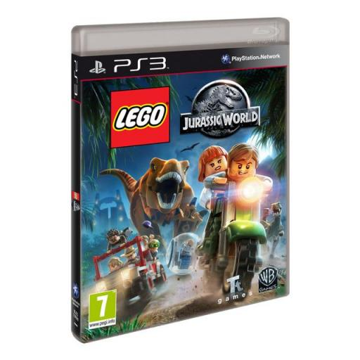 LEGO JURASSIC WORLD PARA PLAYSTATION 3 PS3! CON MANUAL Y TODO!