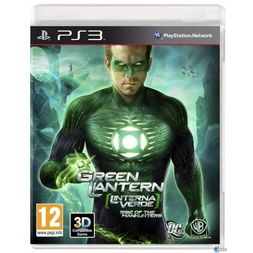 LINTERNA VERDE (GREEN LANTERN) RISE OF THE MAHUNTERS PARA PLAYSTATION 3 PS3