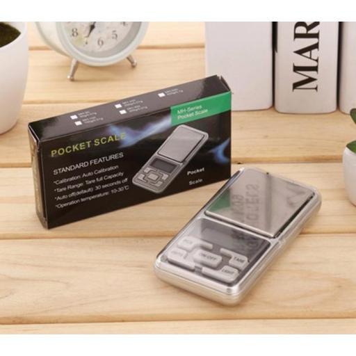 Mini Balanza Digital De Precisión Bascula De 0,1G A 500G Peso [0]