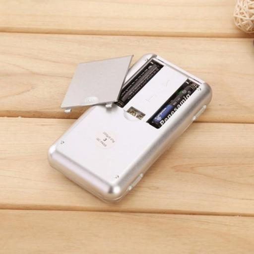 Báscula de bolsillo Digital pesa de 0,01G A 200G [1]