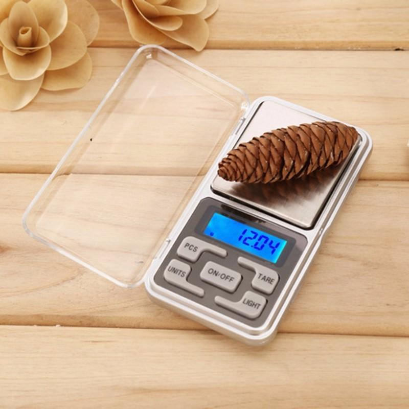 Báscula de bolsillo Digital pesa de 0,01G A 200G