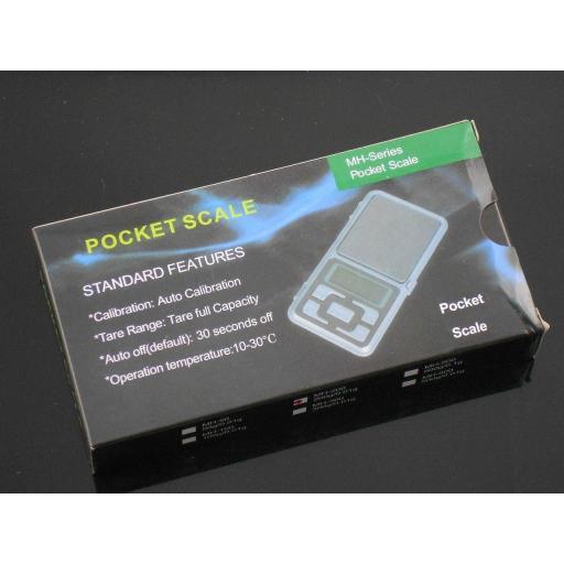 Báscula de bolsillo Digital pesa de 0,01G A 200G [2]