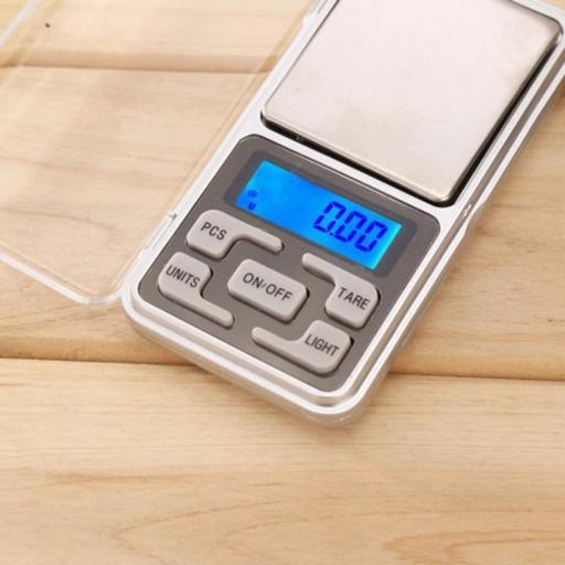 Mini Balanza Digital De Precisión Bascula De 0,1G A 500G Peso [2]