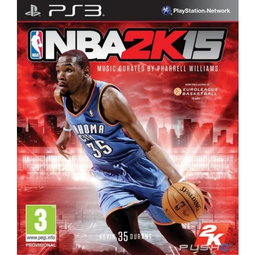 NBA 2K15 PARA PLAYSTATION 3 PS3! CON PACK DE COMENTARISTAS ESPAÑOLES!