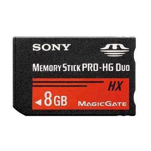 Tarjeta De Memoria De PSP Y Cámara Pro Duo 8Gb Memory Stick