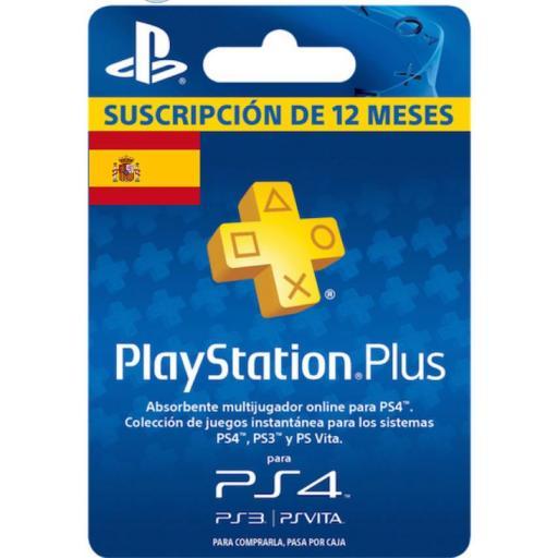 Playstation Plus 1 Año Sony Psn 12 Meses Código Suscripción