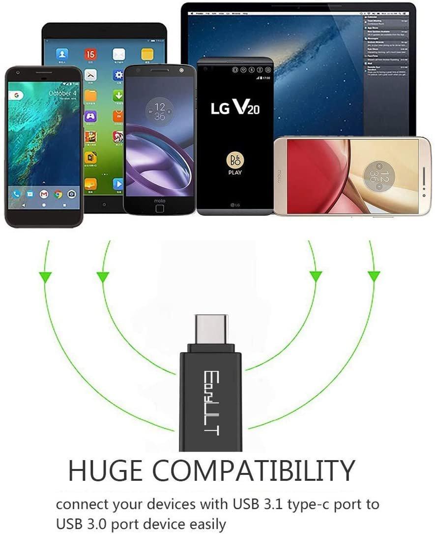 Adaptador USB a tipo C - OTG   Samsung   Huawei   LG   y otros