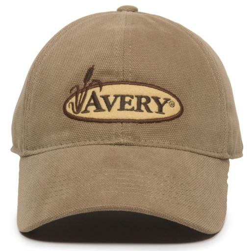 AVERY WOODSMAN FLANNEL-LINED CANVAS CAP