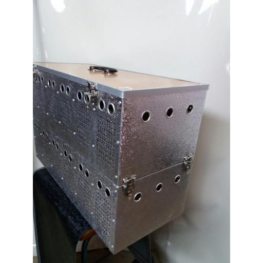 Transportín aluminio (12 palomas) [3]