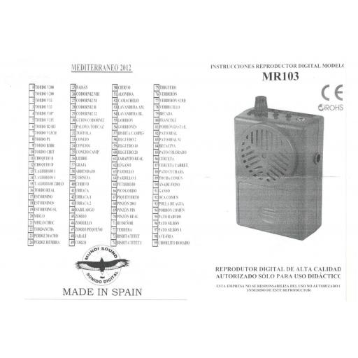 Reproductor muldisound 100 cantos [1]