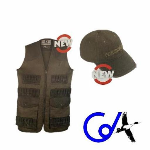PACK CHALECO + GORRA PERCISION