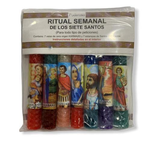 Ritual Semanal de los Siete Santos
