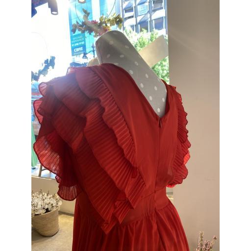 Vestido largo rojo [2]