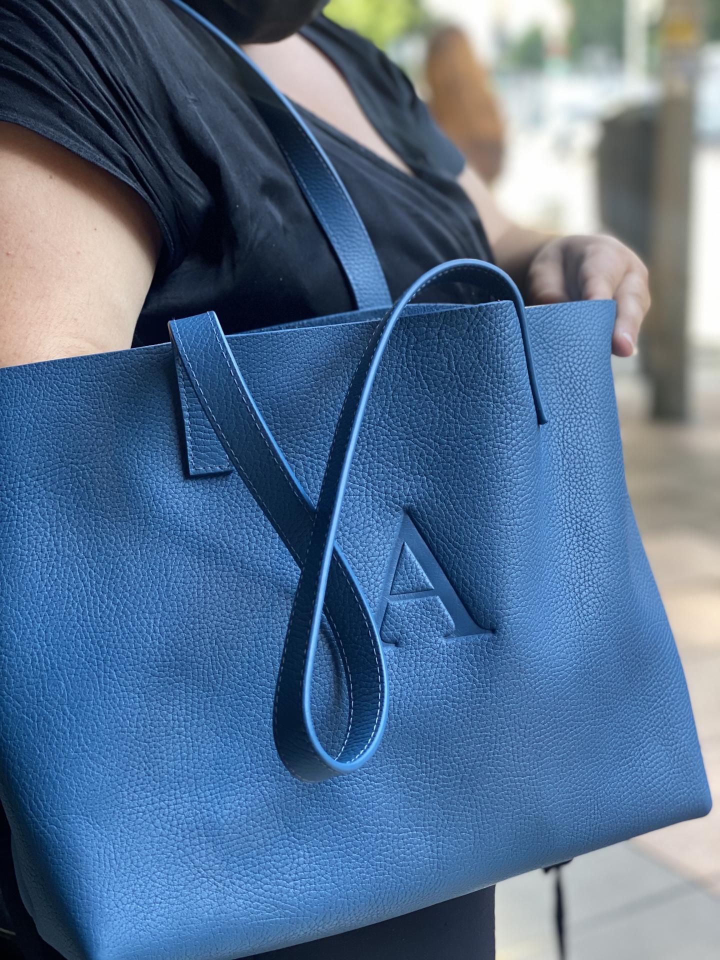 Bolso azul Azafata A