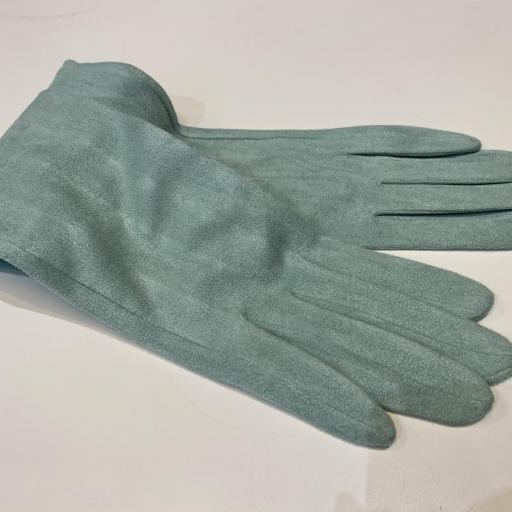 Guantes antelina azul clarito [2]