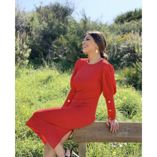 Vestido rojo [1]