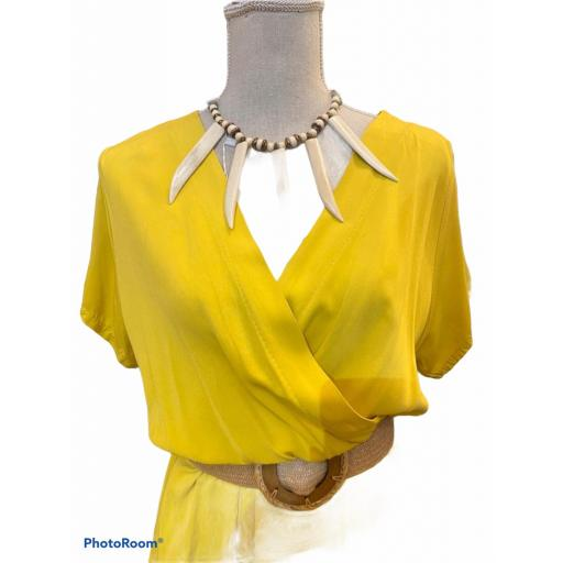 Vestido largo amarillo  [1]