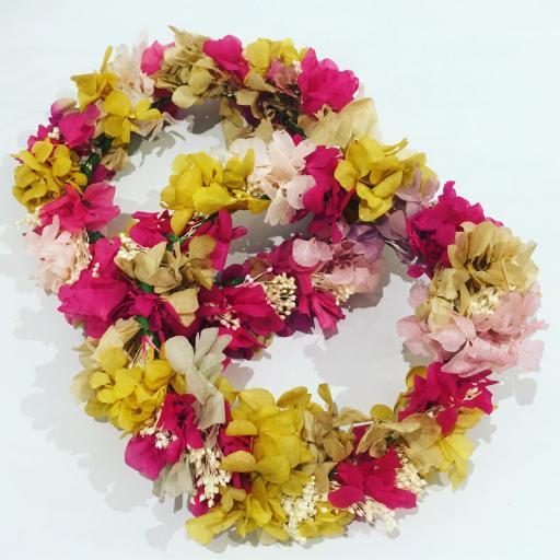 Coronita flores preservadas [0]
