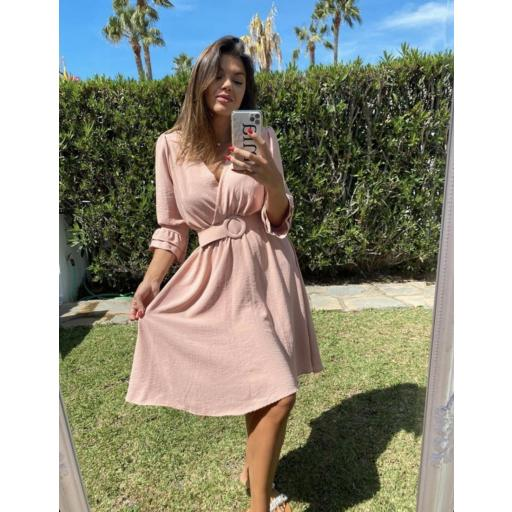 Vestido rosa  [1]