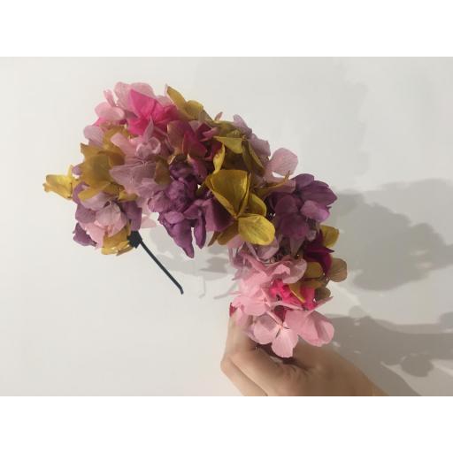 Diadema flores preservadas [1]