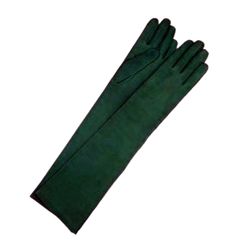 Guantes antelina verde carruaje