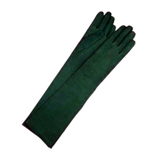 Guantes antelina verde carruaje [0]