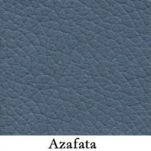 Bolso de piel azul azafata [1]