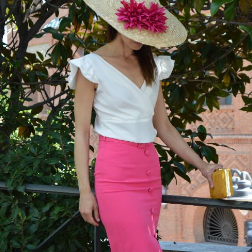 Falda rosa  [0]