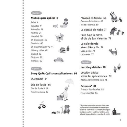 Libro Aplicaciones de Patchwork. Story Quilt 2 [1]