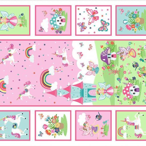 Panel con hadas y unicornios [1]