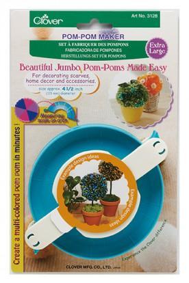 Fabricadora de Pompones Jumbo Clover