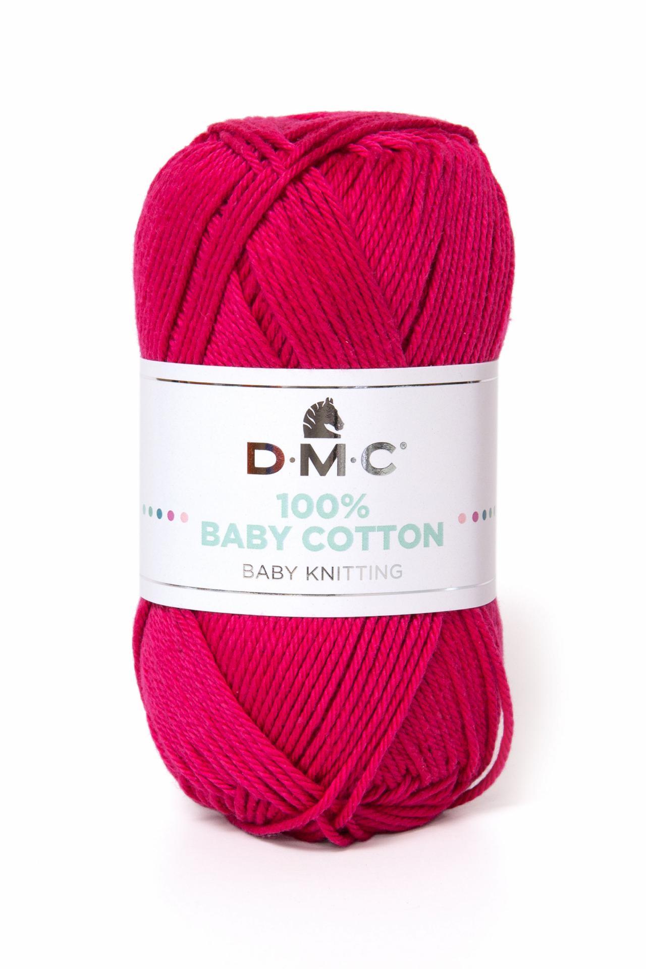 Hilo DMC 100% Baby Cotton 755 Fucsia