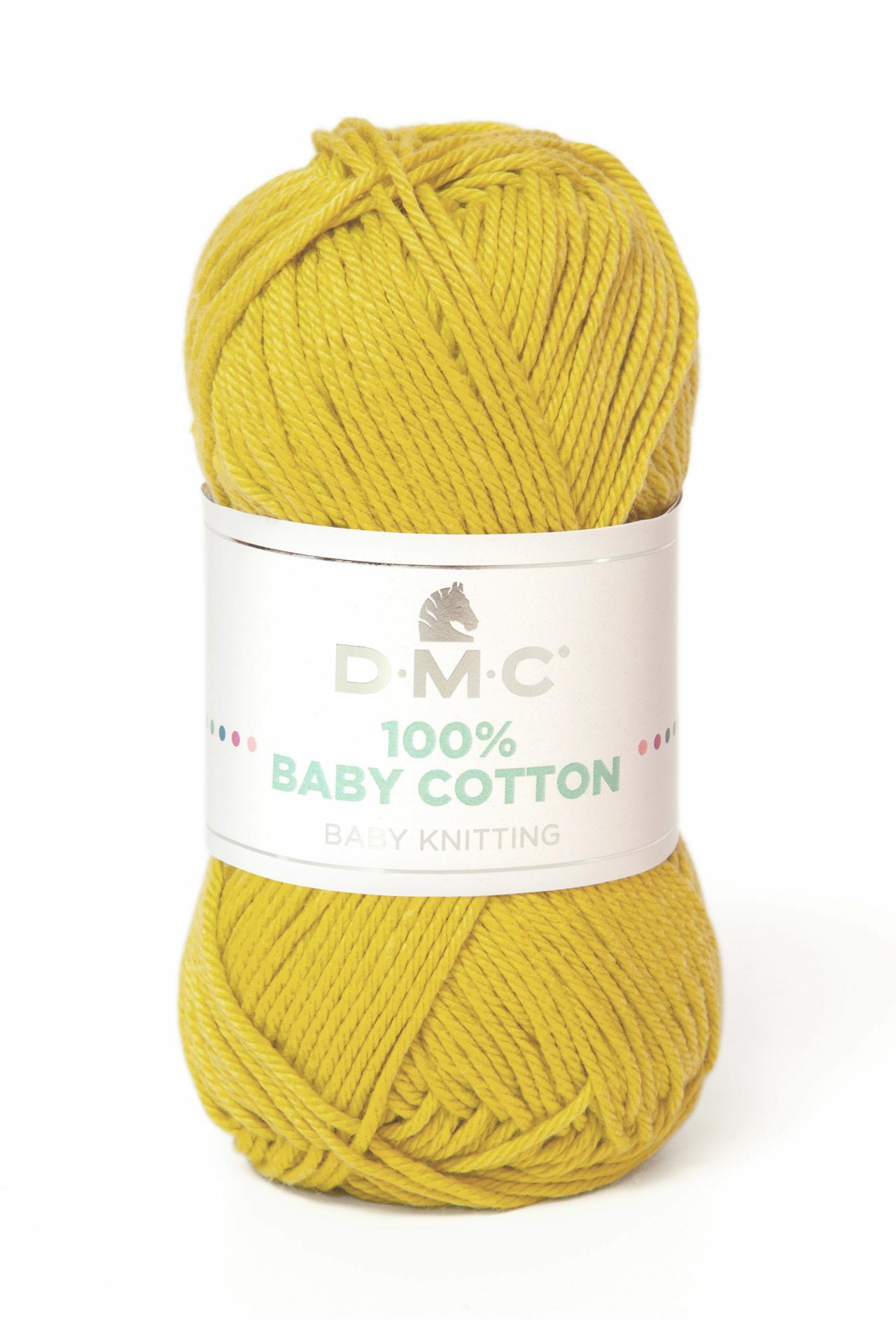 Hilo DMC 100% Baby Cotton 771 Mostaza