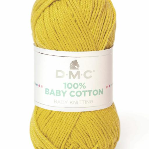 Hilo DMC 100% Baby Cotton 771 Mostaza