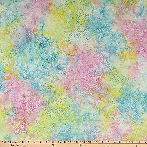 Tela batik Bejeweled floral multicolor