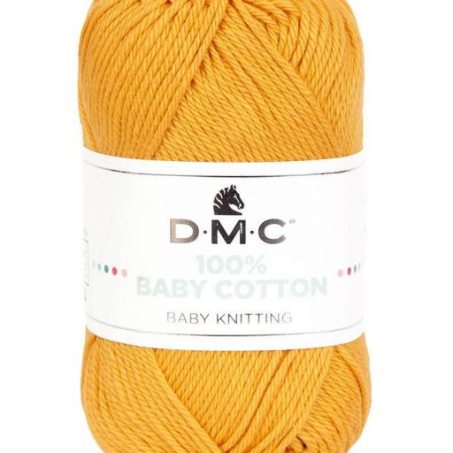 Hilo DMC 100% Baby Cotton 794 naranja