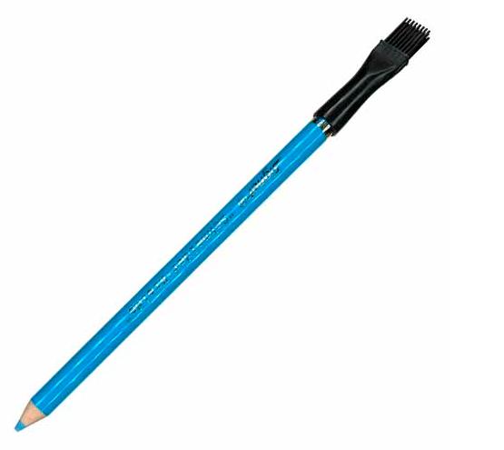 Lápiz marcador azul para tela
