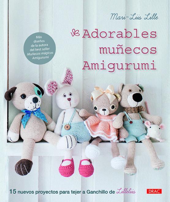 Libro Adorables muñecos Amigurumi