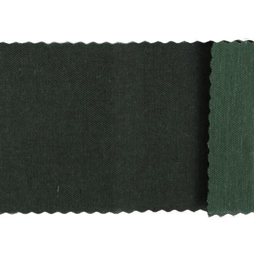 Tela algodón sarga hidrófuga 70 lavados verde  [0]
