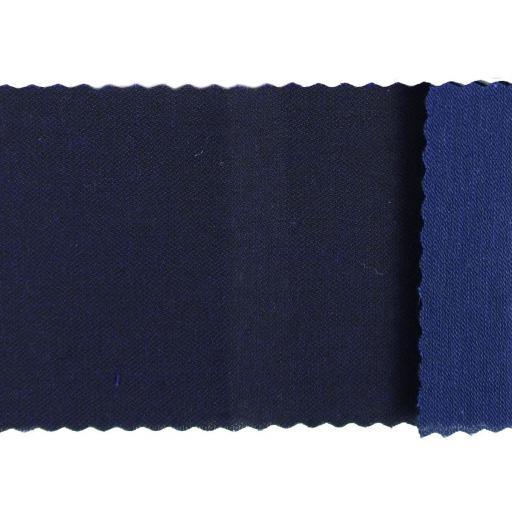 Tela sarga hidrófuga azul marino
