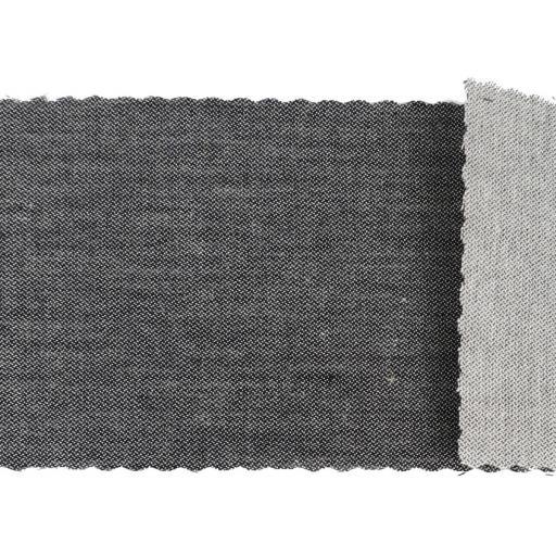 Tela algodón sarga hidrófuga gris