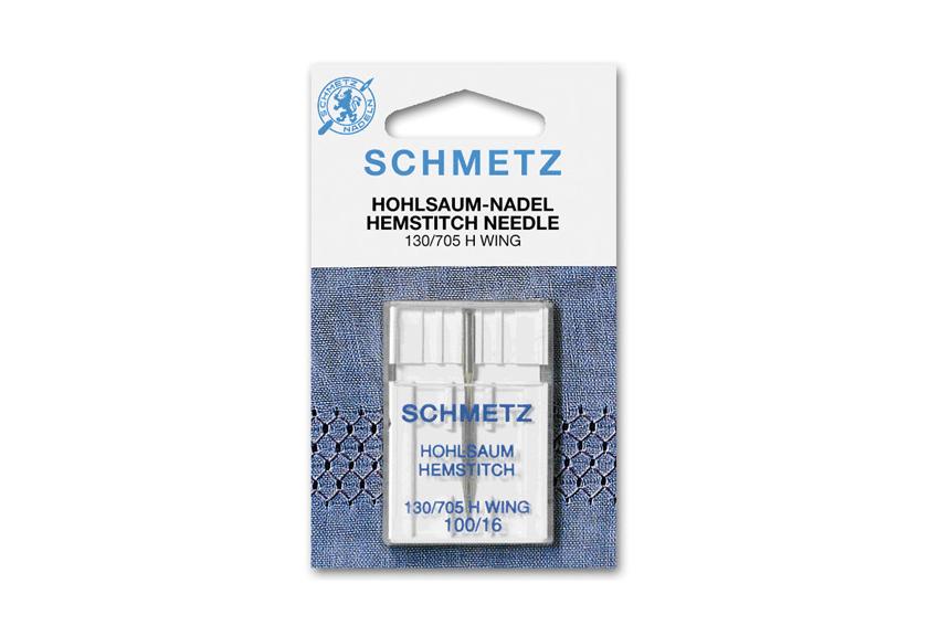 Agujas aladas para calados Schmetz