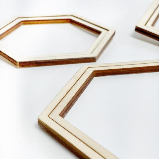 Bastidor hexagonal mediano [1]